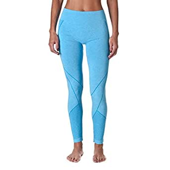 Riverberry Women's Actives Performance Tights, Blue, Large/X-Large