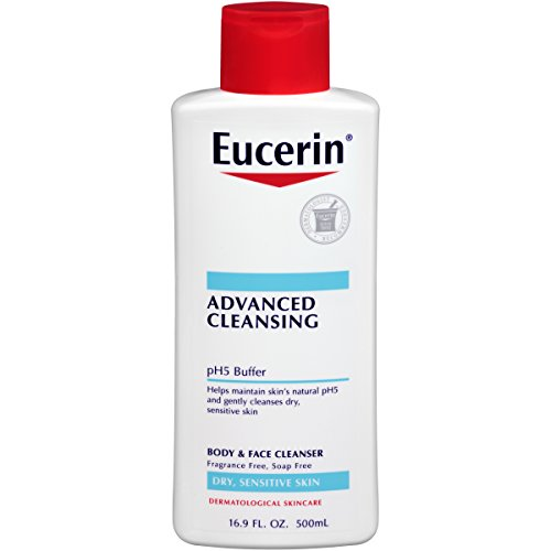 Eucerin Advanced Cleansing Body and Face Cleanser, 16.9 Flui