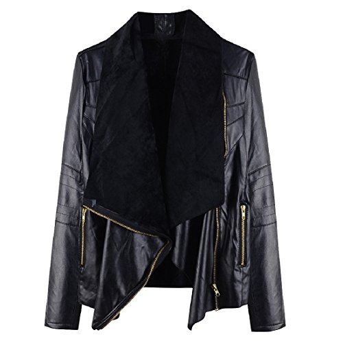 Oversized Motorcycle Jacket - 8
