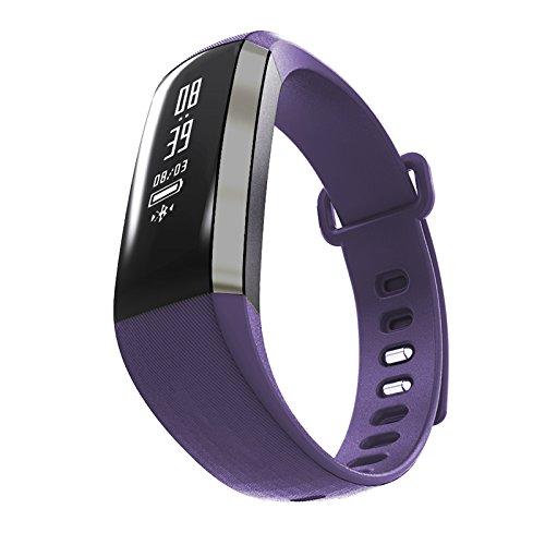Leotec Pulsera de actividad Health - Pulsera de actividad, con monitor de frecuencia cardiaca en