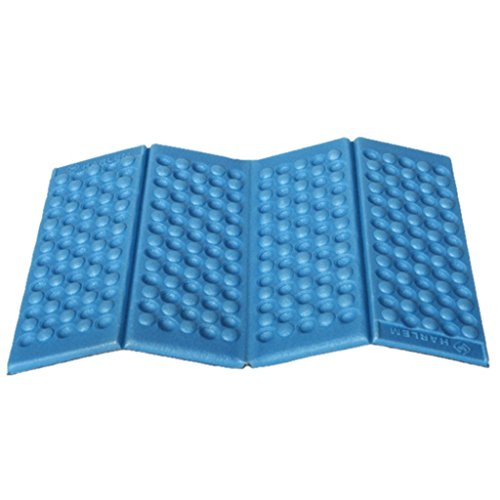 Cheap LEERYA Moisture-proof Folding EVA Foam Pads Mat Cushion Seat Camping Park Picnic (blue)