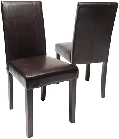 home, kitchen, furniture, kitchen, dining room furniture,  chairs 7 image Roundhill Furniture Urban Style Solid Wood Leatherette Padded in USA