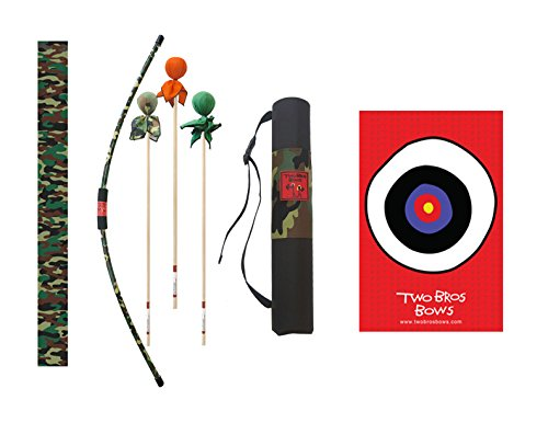 Two Bros Bows Camo Archery Combo Set -