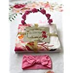 Baby-Monthly-Milestone-Blanket-for-Girl-Boy-Bonus-Wreath-Headband-Premium-Fleece-with-3D-Digital-Printing-Best-Newborn-Photography-Flan