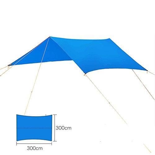 Outdoor Ultralight Sun Shelter Anti Ultraviolet Radiation Beach Tent Waterproof Awning Tent Camping Sunshelter (Hood Latch Assemble)
