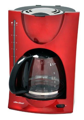 efbe-Schott SC KA 1050 R 1050-Cafetera de Goteo, Color Rojo, 900 W, 1.25 litros, Plástico