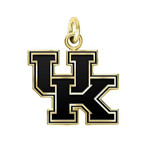 University of Kentucky Wildcats 14k Yellow Gold Cut Out Logo College Charm (3/4