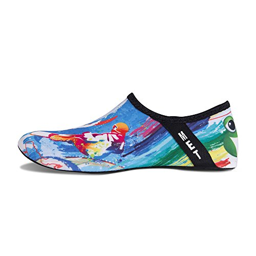 Mens Exercise Barefoot Socks Beach Aqua Dry Kids Yoga Quick Swim Womens Water and Shoes Surfing Blue Surf for 5XnZC