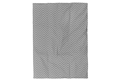 BOOBEYEH & DESIGN Baby Crib Bedding 2 Piece Set, Gray and White Zigzag Design,Includes a Crib Comforter and a Comforter Cover, Perfect for Baby Girls and Boys