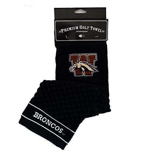 University Michigan Golf Bag (NEW Team Golf Western Michigan University Broncos Premium Golf Towel)