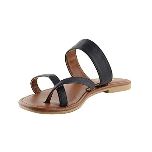 Pictures of SODA Shoes Women Flip Flops Flat Summer Deputy 5