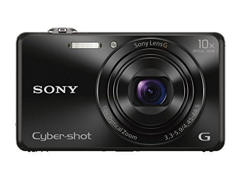 Sony DSCWX220/B 18.2 MP Digital Camera with 2.7-Inch LCD (Black)