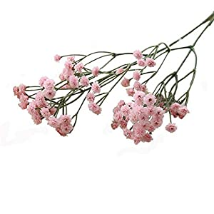 Gatton Artificial Silk Fake Flowers 's Breath Floral ding Bouquet Party Decor (Pink) | Model WDDNG - 2065 | 47