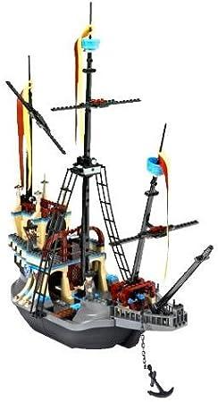 Lego Harry Potter 4768 Le Bateau De Durmstrang Amazon Fr Jeux Et Jouets Ce bateau appartient a l'école durmstrang, il peut aller sous l'eau alors, on voit le mat du millieu, quand il revient à la surface, les voiles se présentent. lego harry potter 4768 le bateau de durmstrang