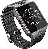 Axxe Samsung Galaxy J7 4G Compatible Bluetooth DZ09 Smart Watch Wrist Watch Phone with Camera & SIM Card Support