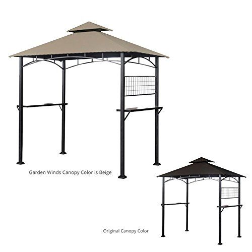 Garden Winds Replacement Canopy For Tile Grill Gazebo