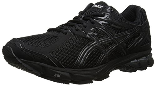 ASICS Men's Gt-1000 3 Running Shoe,Black/Onyx/Lightning,8 2E US