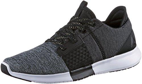 Reebok REEBOK trilux Run PNT–Chaussures Sportives, femme, noir–(Black/White)