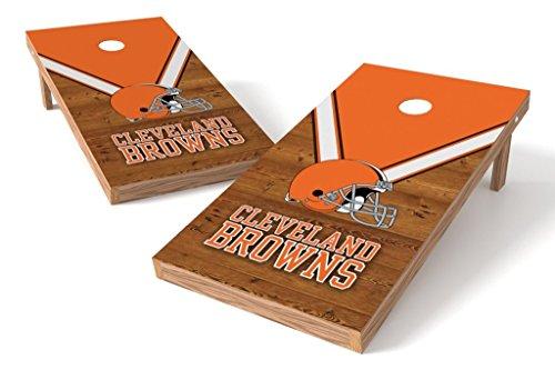 PROLINE NFL 2'x4' Cornhole Board Set - Uniform Design, Cleveland Browns