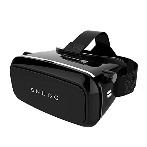 VR Headset, Snugg 3D Virtual Reality Glasses For iPhone, Samsung, Sony [Controller Compatible] Magnetic Front Plate [Perfect For Gaming, Movies, TV Shows, Music Videos] - Htc Evo Charging Pad