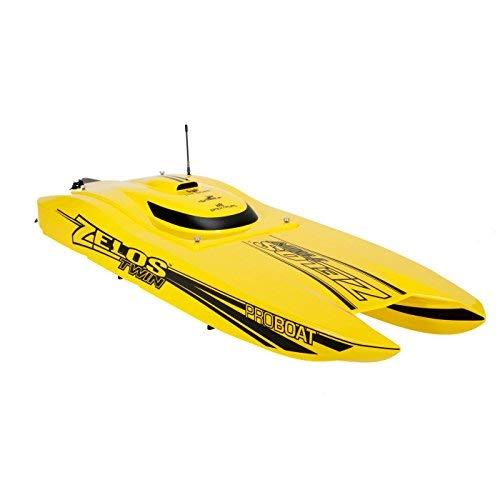 (Pro Boat Zelos 36 Twin Catamaran BL RTR RC)