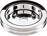 Billet Specialties 83220 Polished 2 Groove Water Pump Lower Pulley for Big Block Chevy