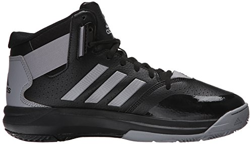 Adidas Performance Men's Outrival 2 Basketball Shoe Black/Light Onix/Silver Metallic fast delivery footaction sale online zck81NJlWd