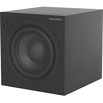 bowers and wilkins asw608 subwoofer speaker matte black home audio theater. Black Bedroom Furniture Sets. Home Design Ideas