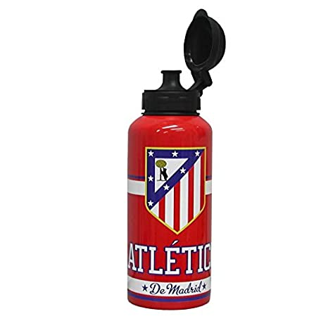 Amazon.com: Atlético de Madrid botella de aluminio: Kitchen ...