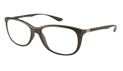 0a0a3e06aec Amazon.com  Ray-Ban Rx Eyeglasses - RX7024 Brown   Frame only with ...
