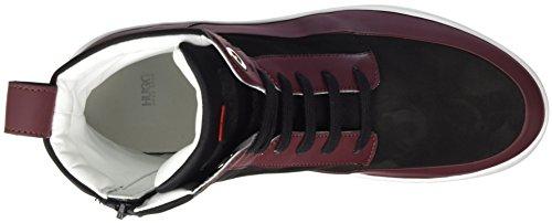 Farrel Rouge HUGO 01 Femme 10202347 Dark Baskets Red ZqqAxBw4d