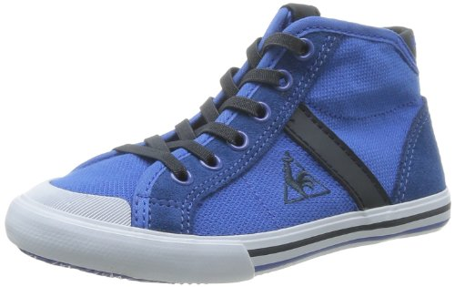 Blue Baskets Sportif enfant Ps Malo mixte Olympian Cotton Coq Saint Bleu Le Pique Mid mode 6RZq4Ux