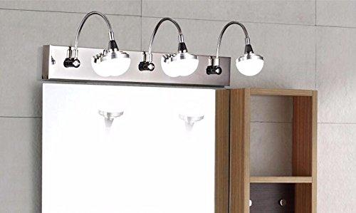 Badspiegel Lampe LisaFeng Edelstahl Badezimmerschrank lampe Spiegel ...