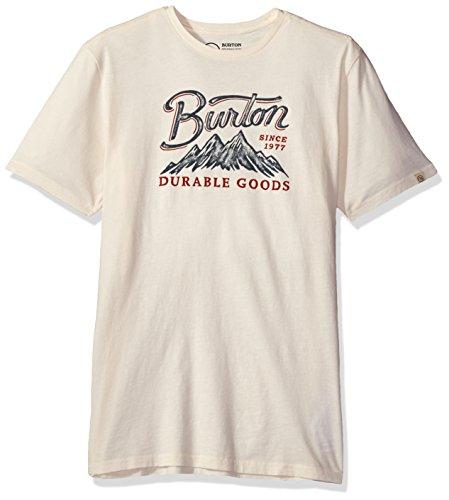 Burton Front Range ss tee, Vintage White, Small