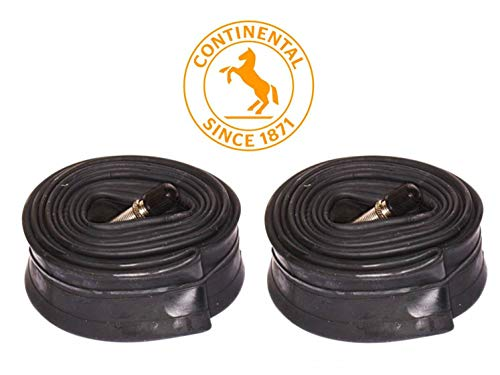 Continental New 2 Pack 26 X 1.75-2.5 - SV 40mm Valve MTB Bike Inner Tubes - Bulk