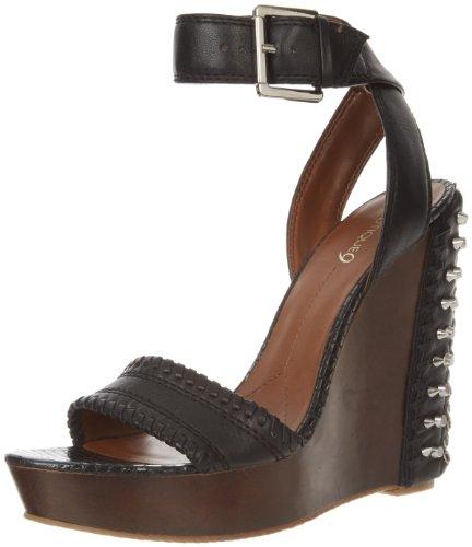 Sandalo Con Zeppa Gwendolyn Boutique 9 Donna Nero