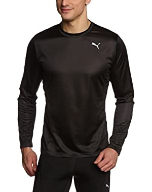 Mens Essentials Running Long Sleeve T-Shirt