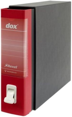 Rexel Dox 1/A4/con leva extra forte linguetta Pacco da 6 White