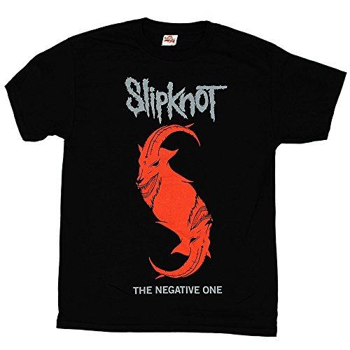 Slipknot - The Negative One Goat t-shirt, Size: X-Large, Color: Black (Slipknot Chris)