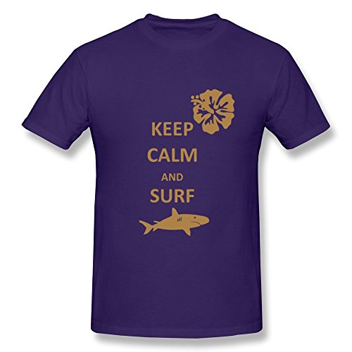 wsb-mens-tee-keep-calm-surf-shark-purple-xs