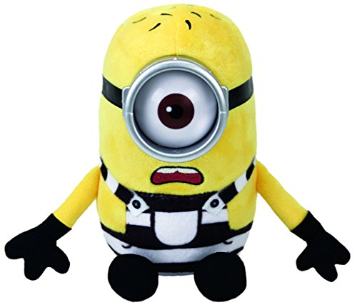 Ty Despicable Me 3 Jail Carl Plush Toy -