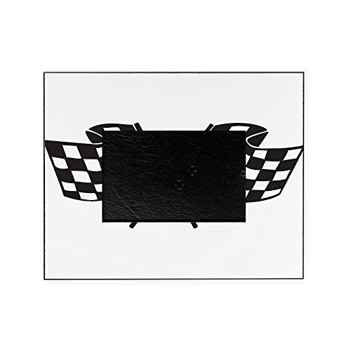 CafePress - Checkered Flag, Race, Racing, Motorsports Picture - Decorative 8x10 Picture Frame