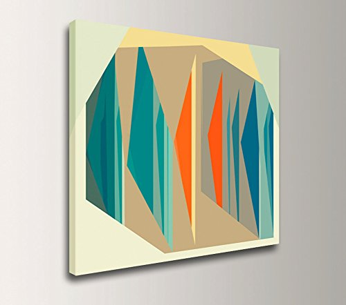"""Multiplex"" – Mid Century Modern Canvas Artwork 41KWeJZxTJL"