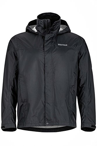 Marmot Men's PreCip Jacket, Black Large