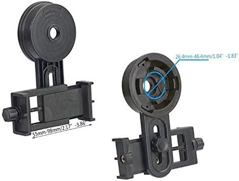 ACAMPTAR Adaptateur de Jumelles pour Tr/éPied avec Support de T/éLescope pour T/éL/éPhones Intelligents et Android