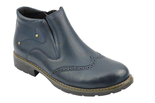 Xposed - botas Brogue hombre Azul - azul