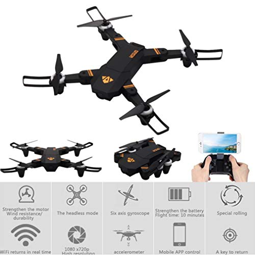 Kasien XS809mini Drone Quadcopter, VISUO XS809mini 2.4G HD WIFI Camera Altitude Hold Foldable RC Quadcopter Drone by Kasien