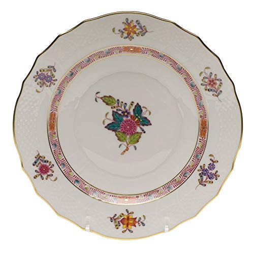 Herend Chinese Bouquet Multicolor Porcelain Salad Plate