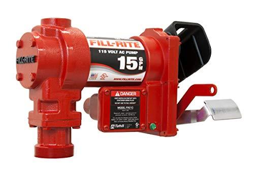 - Fill-Rite FR604G 115V 15 GPM Fuel Transfer Pump (Pump Only) (Renewed)