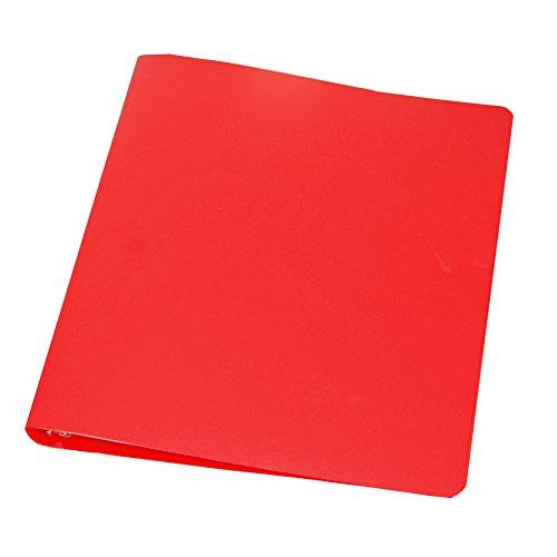 Samsill 1/2-Inch 28 Gauge Poly Binder, Red (10103)
